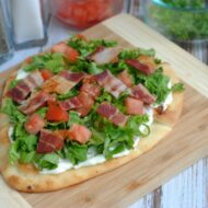 Easy BLT Pizza Recipe + $100 Amazon Gift Card Giveaway