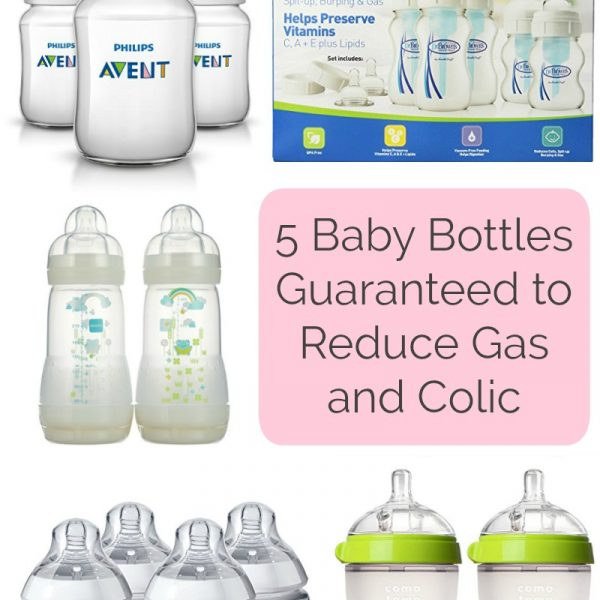 5 Baby Bottles Guaranteed to Reduce Gas and Colic