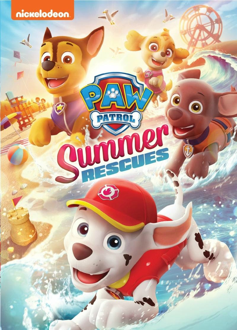 New to DVD: PAW Patrol: Summer Rescues (May 1st)