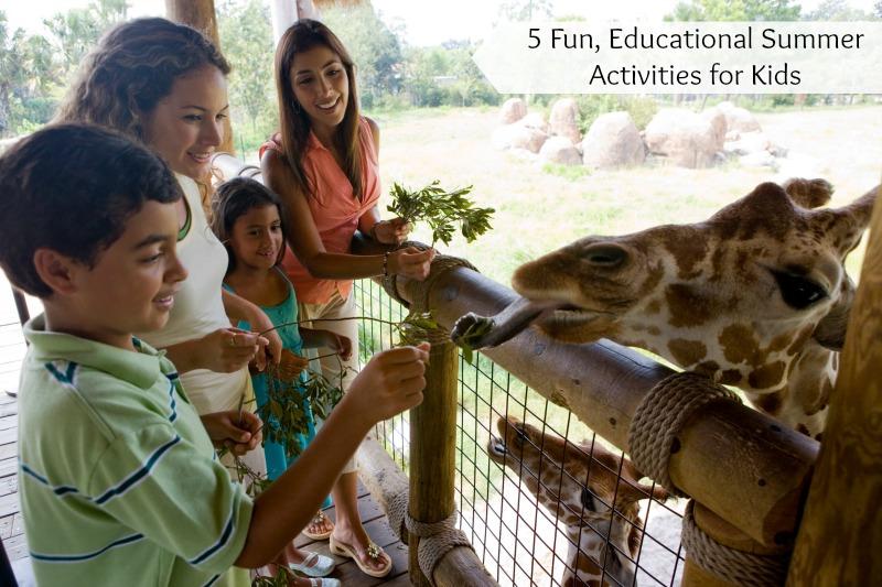 5 Fun, Educational Summer Activities for Kids
