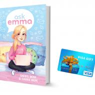 BE BRAVE. BE KIND. BE YOU. + Ask Emma Visa Gift Card Giveaway