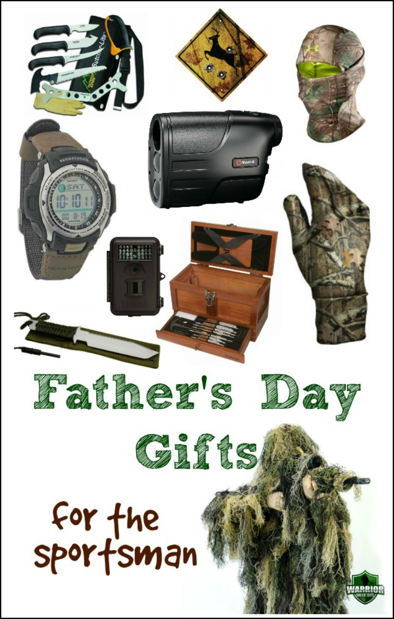 Just in Time for Father's Day, the Sportsman Gift Guide