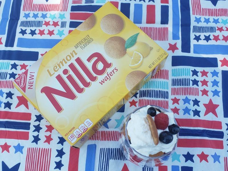 NILLA Wafers Lemon Berry Parfait