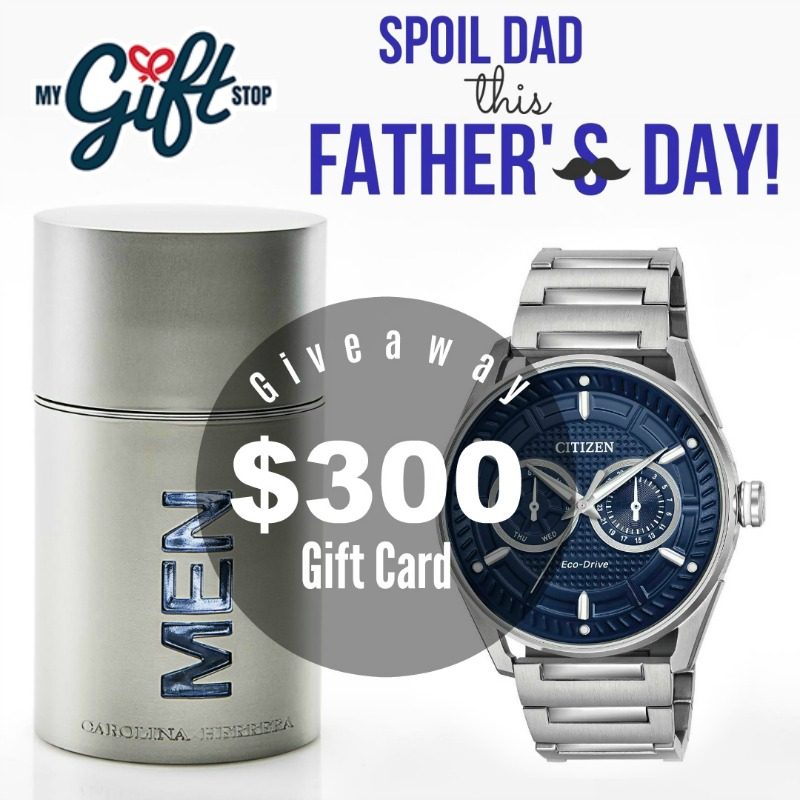 Show Dad How Much Care This Father's Day + $300 MyGiftShop Giveaway