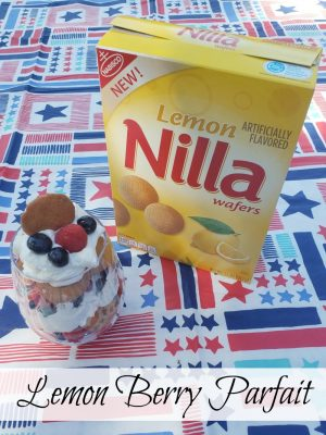NILLA Wafers Lemon Berry Parfait