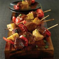 St. Louis Style Spare Ribs and Pineapple Pork Kebabs, Oh my!