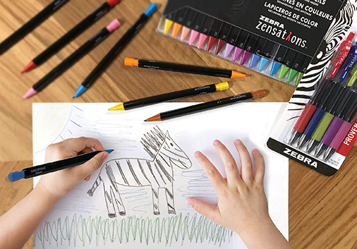 Capture Life's Moments with Zebra Pens