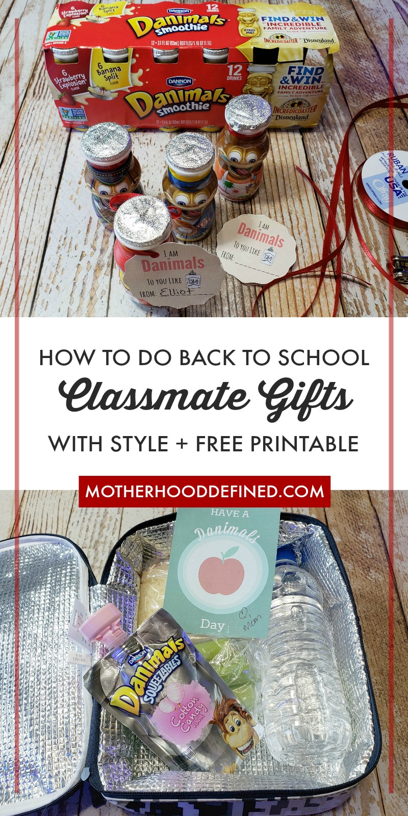 How to do Back to School Classmate Gifts with Style + Free Printables #SnackToSchool #CollectiveBias