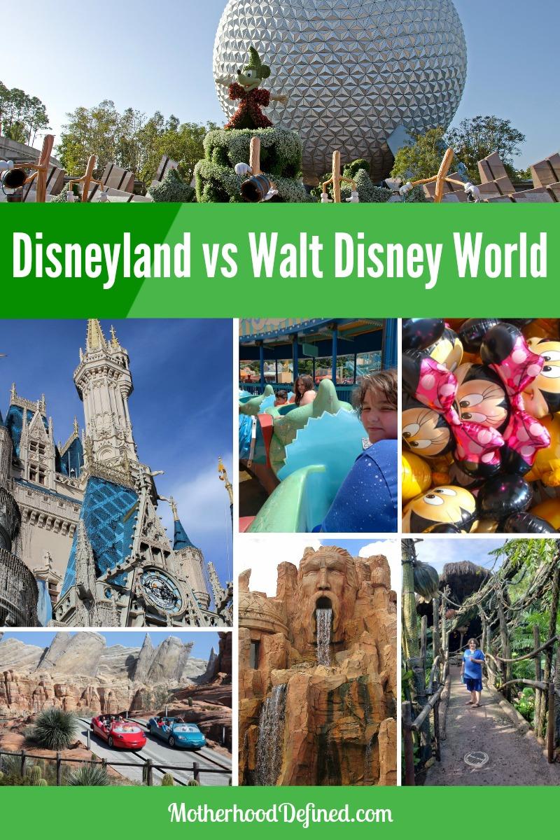 Disneyland in California vs Walt Disney World In Orlando