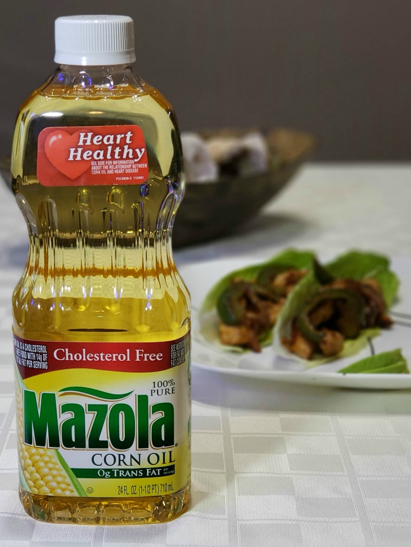 Heart-Healthy Chicken Fajitas with Mazola Corn Oil