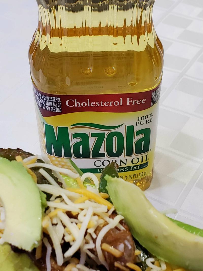 Heart-Healthy Chicken Fajitas with Mazola Corn Oil #MakeItMazola #simpleswap