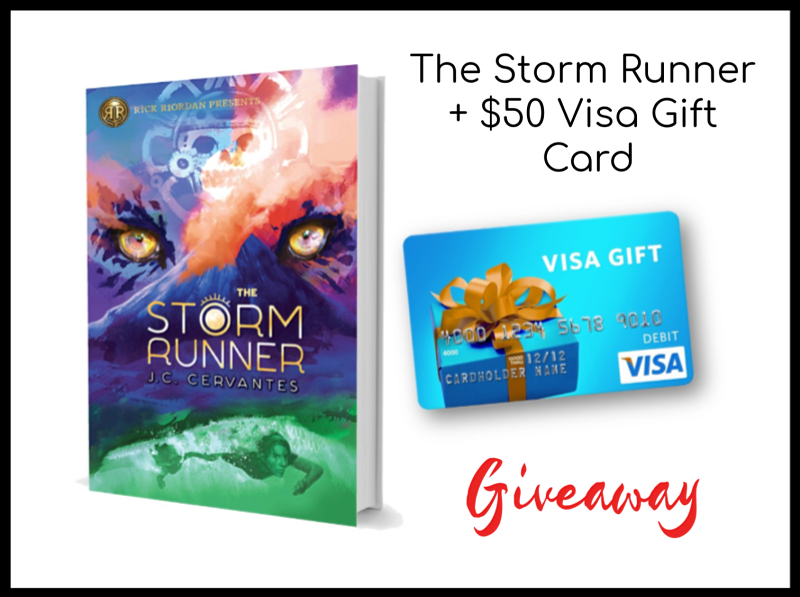 The Storm Runner Inspires Tween Reading + Giveaway
