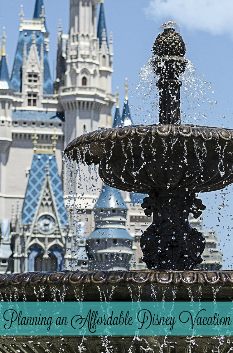 Planning an Affordable Disney Vacation