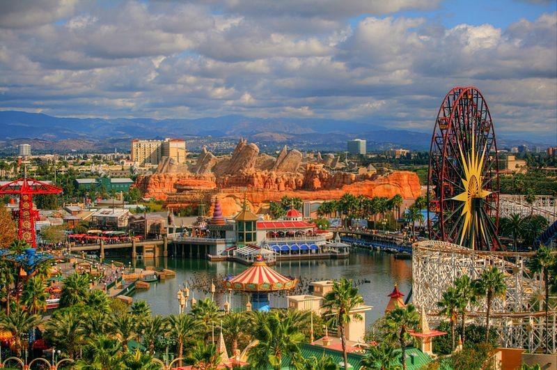 Disneyland's Paradise Pier Hotel, California