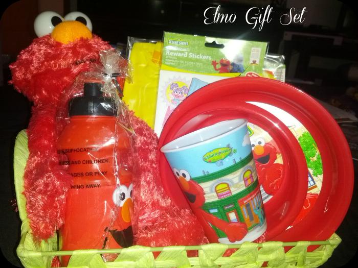 Elmo Gift Set