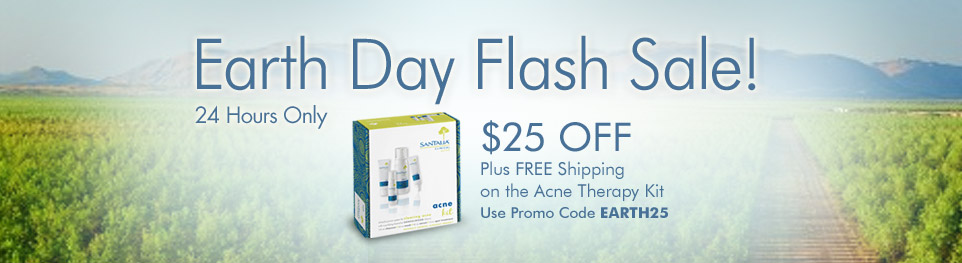 Santalia Earth Day Flash Sale