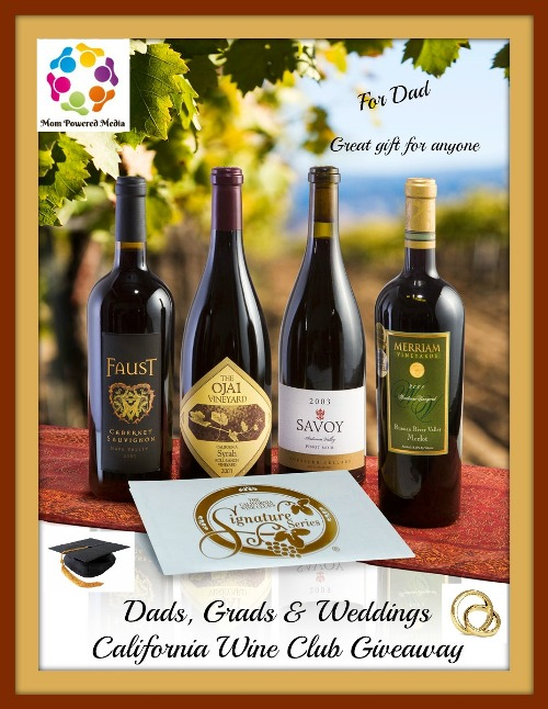California Wine Giveaway