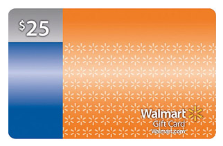 25 walmart gift card