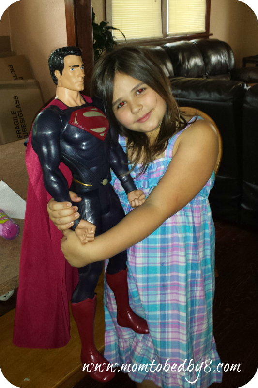 Aryka and Superman