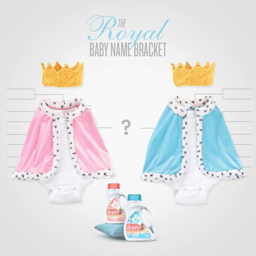 Dreft - Royal Baby Name Bracket