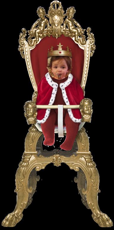 Mr. E takes the throne!