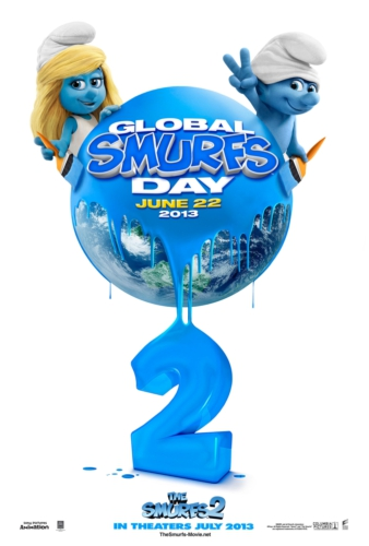 SONY PICTURES ENTERTAINMENT GLOBAL SMURFS DAY