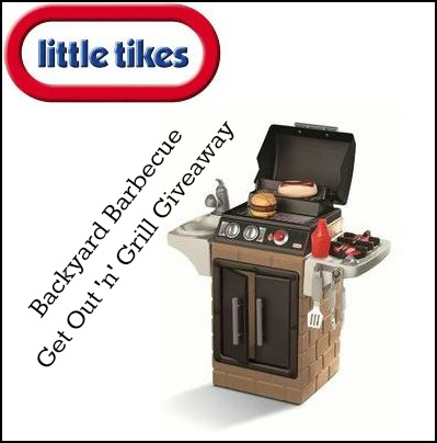 Little Tikes Grill Giveaway