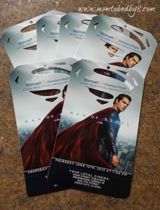 Man of Steel Tickets