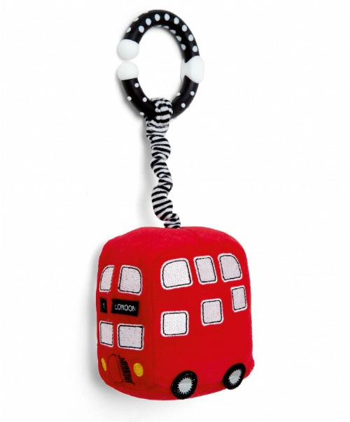 Mini Red Bus Stroller Toy