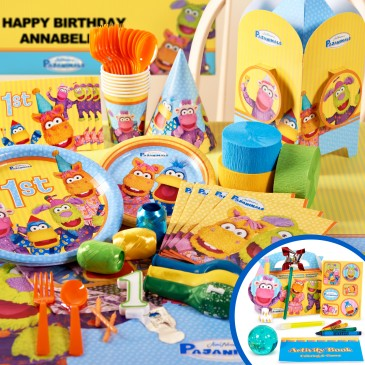 Pajanimals Birthday Party Packs