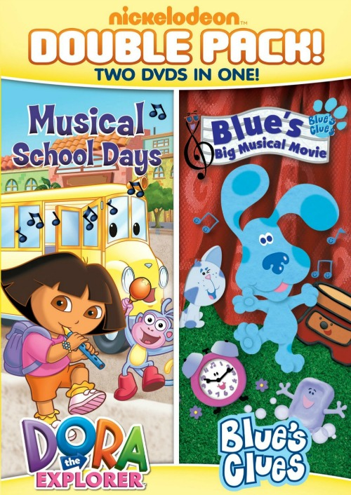 Dora & Blue's Clues Double Feature DVD