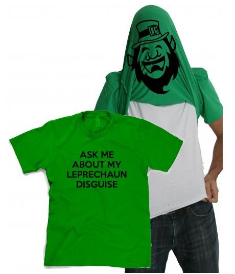 St Patricks Day Flipup Shirt