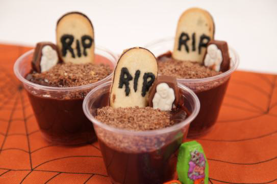 Recipes like the Zombie Dirt Dessert give candy lovers the opportunity to incorporate tasty Palmer Halloween treats into their Halloween party menus.