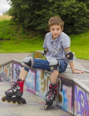 kid's inline skating