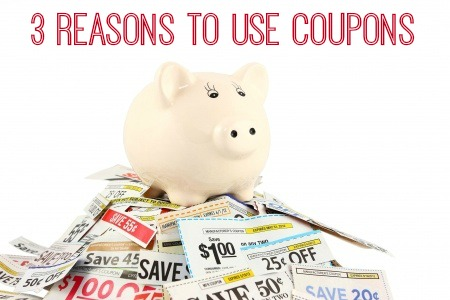 3 Reasons to Use Coupons