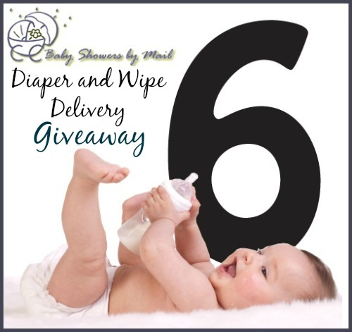 6 Month Diaper Wipe Giveaway
