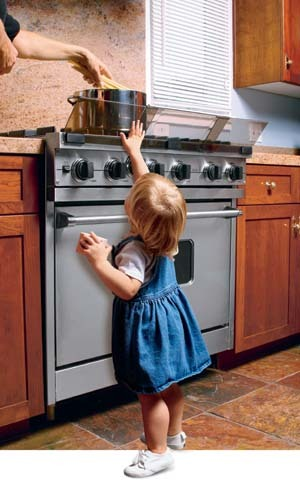 Stove Guard for Child Safety