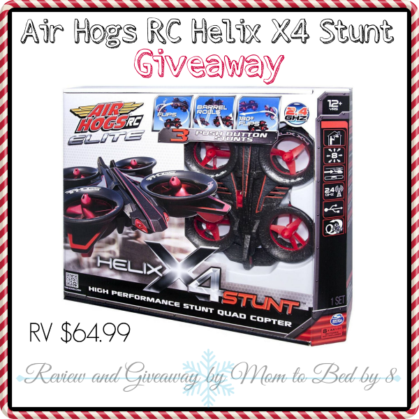 Air Hogs Helix X4 Stunt Giveaway