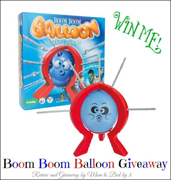 Boom Boom Balloon Giveaway