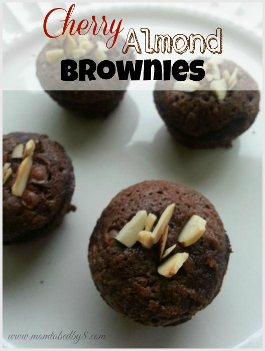 Cherry Almond Brownies Recipe