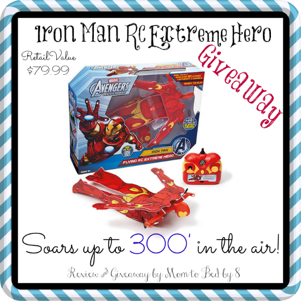 Extreme Hero Iron Man Giveaway