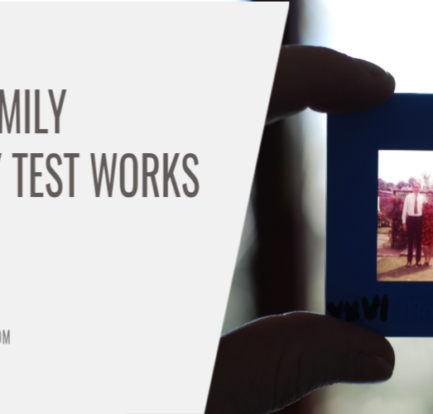 How a Family Ancestry Test Works