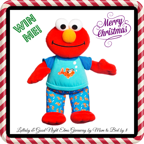 Lullaby & Good Night Elmo Giveaway