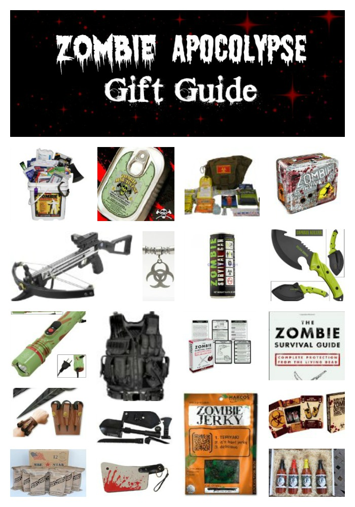 Zombie Apocolypse Gift Guide - 20