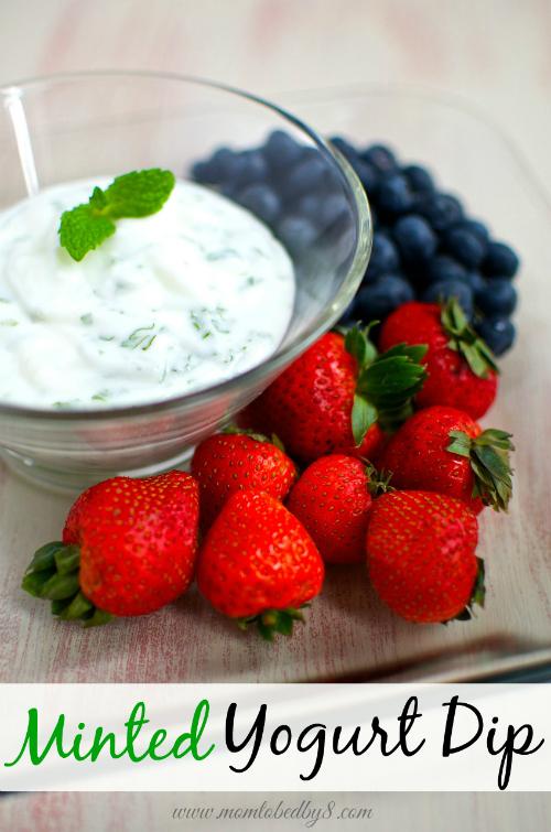 Minted Yogurt Dip