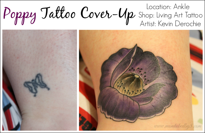 Poppy Tattoo Cover-Up