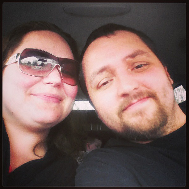 My hubby and I on our last date night outing.