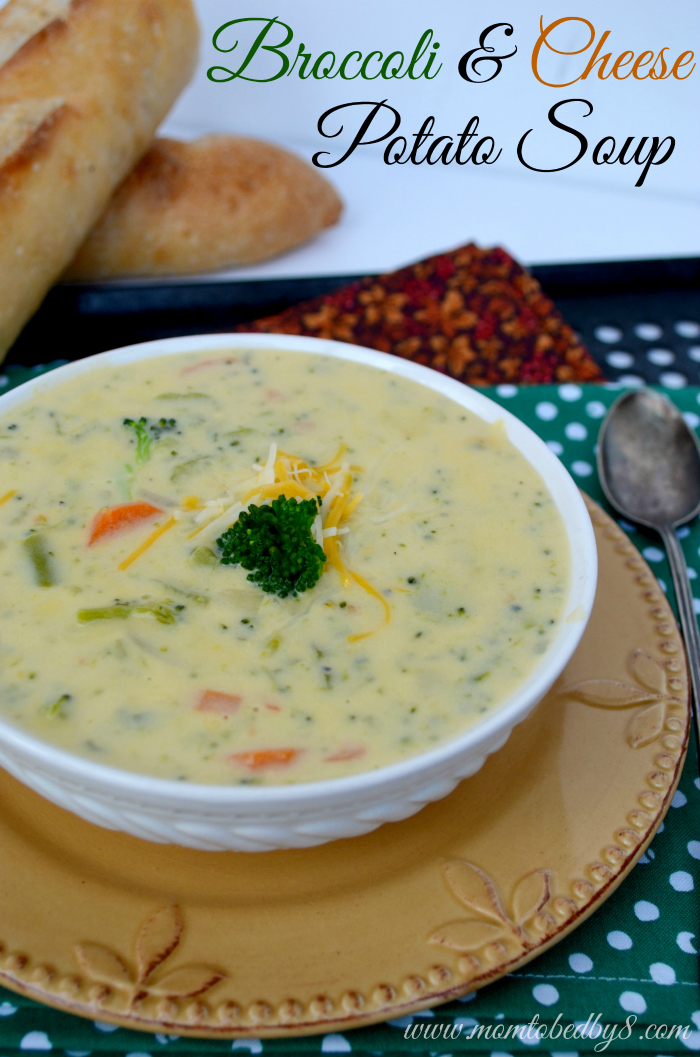 Broccoli & Cheese Potato Soup photo #3
