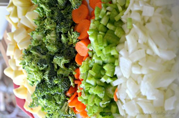 Broccoli & Cheese Potato Soup shared photo #1