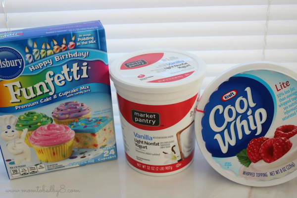 Funfetti Dip Ingredients